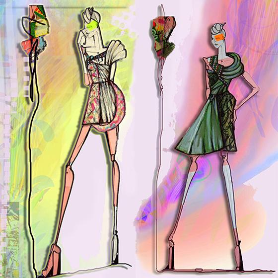 Marijana Hero, a fashion designer from Rijeka, designs